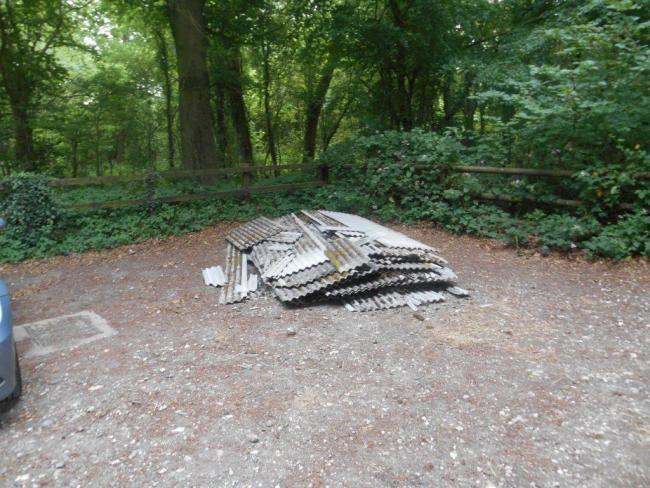 Asbestos Dumped Outside Busy Boxing Gym